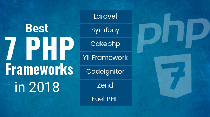 Best 7 PHP Frameworks That You Can Not Miss in 2018